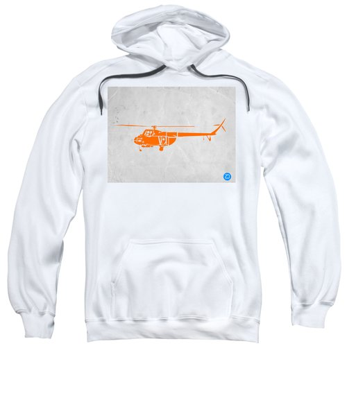 Helicopter Sweatshirt by Naxart Studio