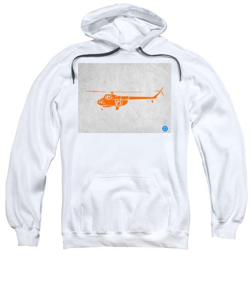 Helicopter Sweatshirt by Naxart Studio