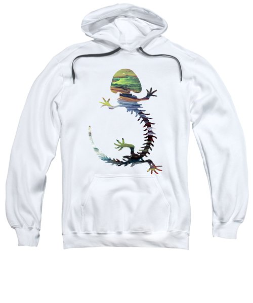 Hellbender Skeleton Sweatshirt by Mordax Furittus