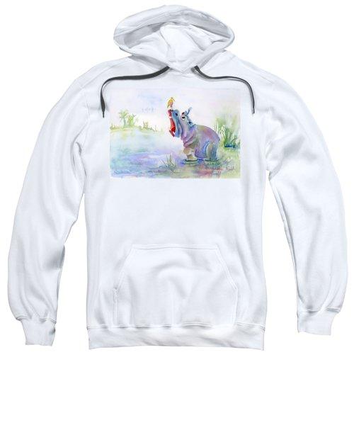 Hey Whats The Big Idea Sweatshirt by Amy Kirkpatrick