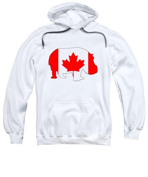 Hippopotamus Canada Sweatshirt by Mordax Furittus