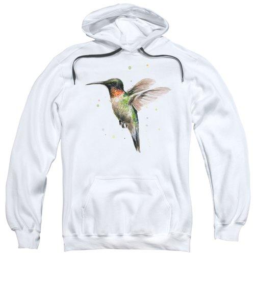 Hummingbird Sweatshirt by Olga Shvartsur