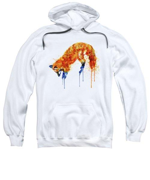 Hunting Fox  Sweatshirt by Marian Voicu