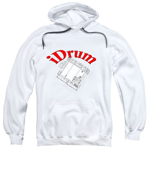 iDrum Sweatshirt by M K  Miller