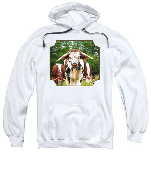 I'm In Charge Here Sweatshirt by Gill Billington