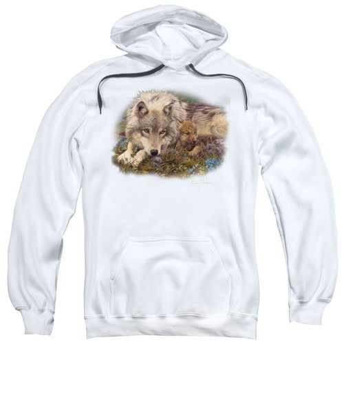 In A Safe Place Sweatshirt by Lucie Bilodeau