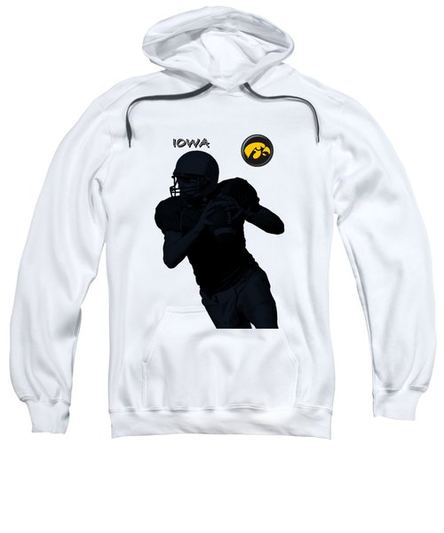 Iowa Football  Sweatshirt by David Dehner