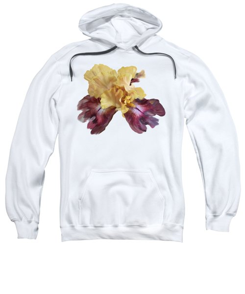 Iris T Shirt Sweatshirt by Nancy Pauling