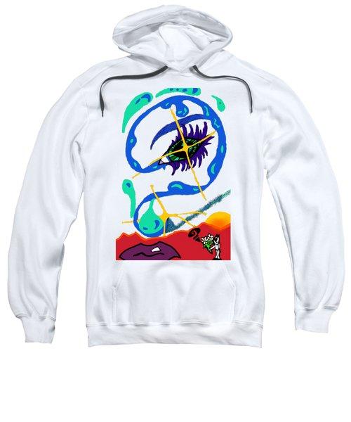 iseeU Sweatshirt by Flyn Phoenix