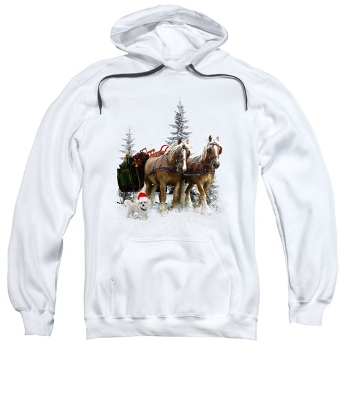 A Christmas Wish Sweatshirt by Shanina Conway