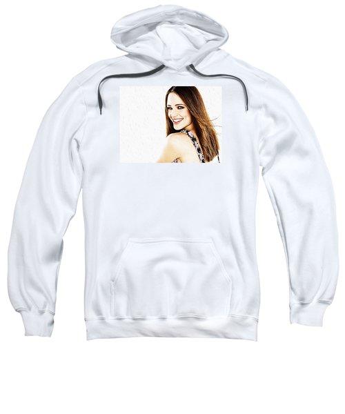 Jennifer Garner Sweatshirt by Iguanna Espinosa