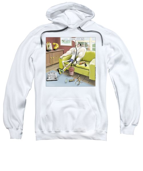 Jim - Leg Day Sweatshirt by Kris Burton-Shea