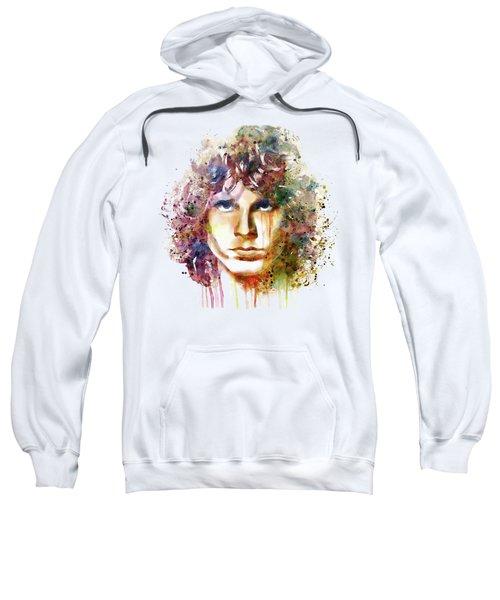 Jim Morrison Sweatshirt by Marian Voicu