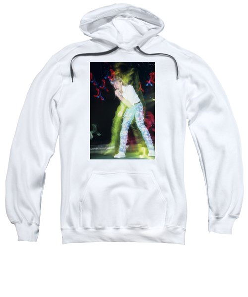 Joe Elliott Of Def Leppard Sweatshirt by Rich Fuscia