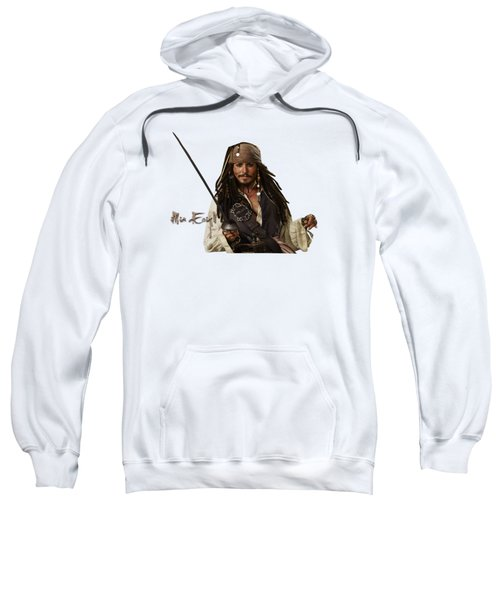 Johnny Depp, Pirates Of The Caribbean Sweatshirt by iMia dEsigN