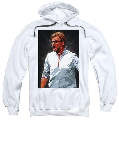 Jurgen Kloop Sweatshirt by Semih Yurdabak