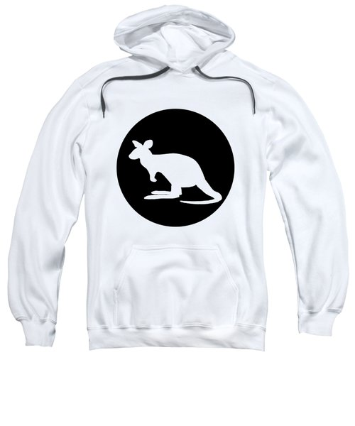 Kangaroo  Sweatshirt by Mordax Furittus