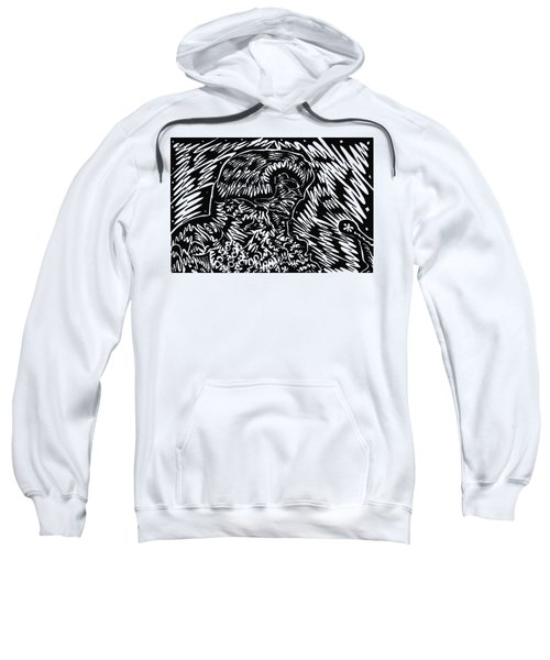King Sweatshirt by AR Teeter
