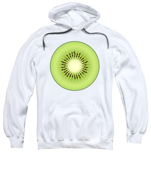Kiwi Fruit Sweatshirt by Miroslav Nemecek