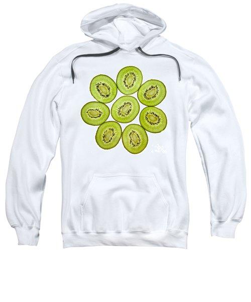 Kiwifruit Sweatshirt by Nailia Schwarz