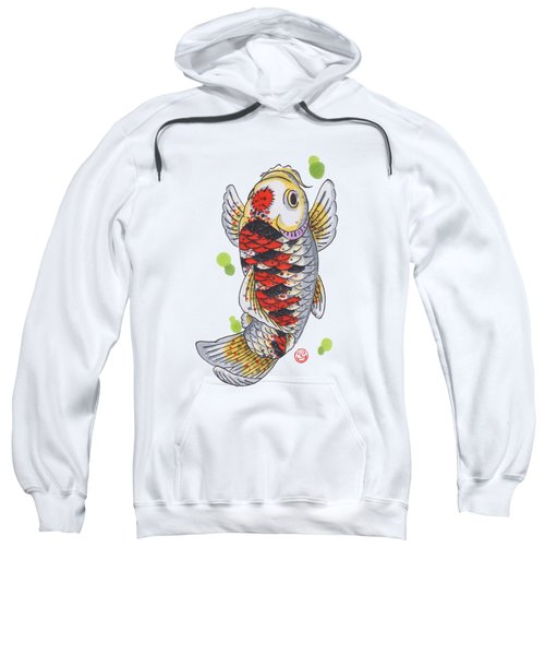 Koi Fish Sweatshirt by Shih Chang Yang