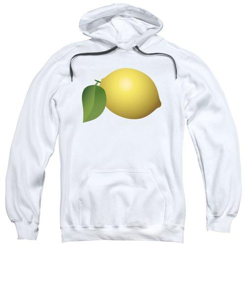 Lemon Fruit Sweatshirt by Miroslav Nemecek