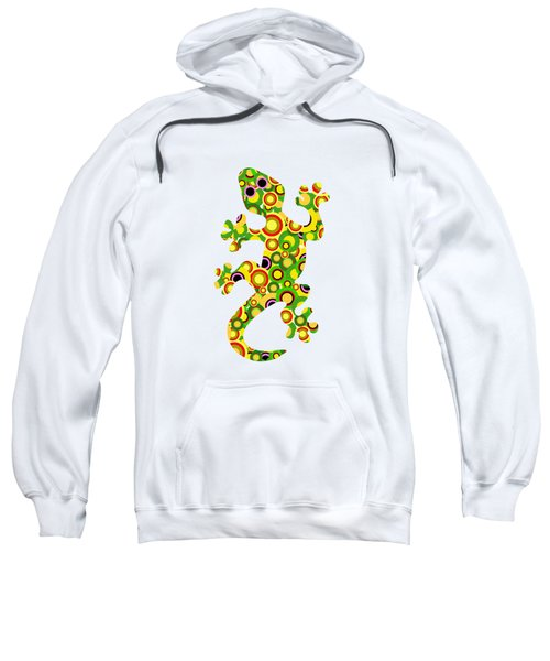 Little Lizard - Animal Art Sweatshirt by Anastasiya Malakhova