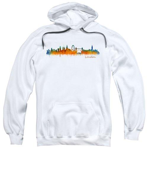 London City Skyline Hq V2 Sweatshirt by HQ Photo