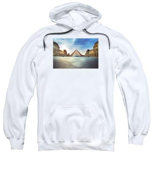 Louvre Museum Sweatshirt by Ivan Vukelic