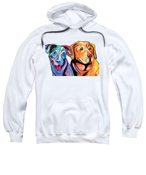 Maggie And Raven Sweatshirt by Abbi Kay