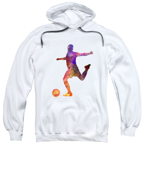 Man Soccer Football Player 03 Sweatshirt by Pablo Romero