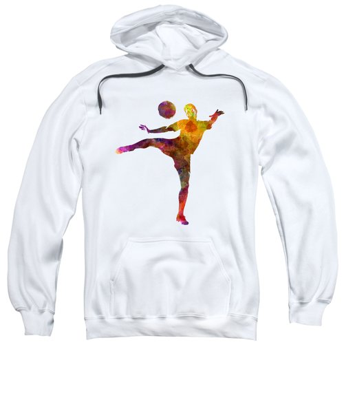 Man Soccer Football Player 07 Sweatshirt by Pablo Romero