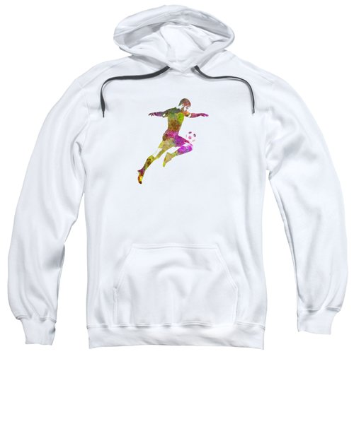 Man Soccer Football Player 12 Sweatshirt by Pablo Romero