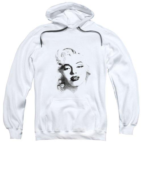 Marilyn  Sweatshirt by John Barnard