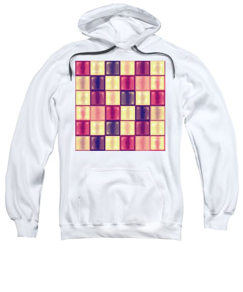 Marsala Ceramic Tiles - Square Sweatshirt by Shelly Weingart