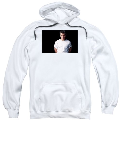 Matt Damon Sweatshirt by Iguanna Espinosa
