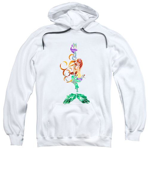 Mermaid Sweatshirt by Aubrey Hittle