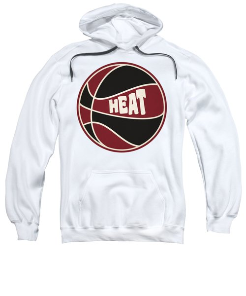 Miami Heat Retro Shirt Sweatshirt by Joe Hamilton