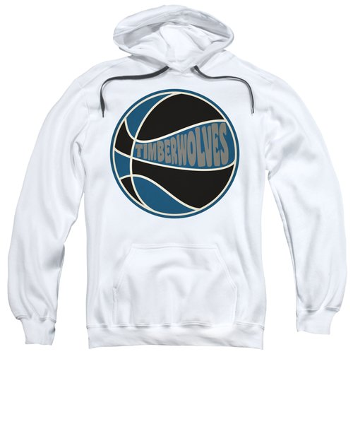 Minnesota Timberwolves Retro Shirt Sweatshirt by Joe Hamilton