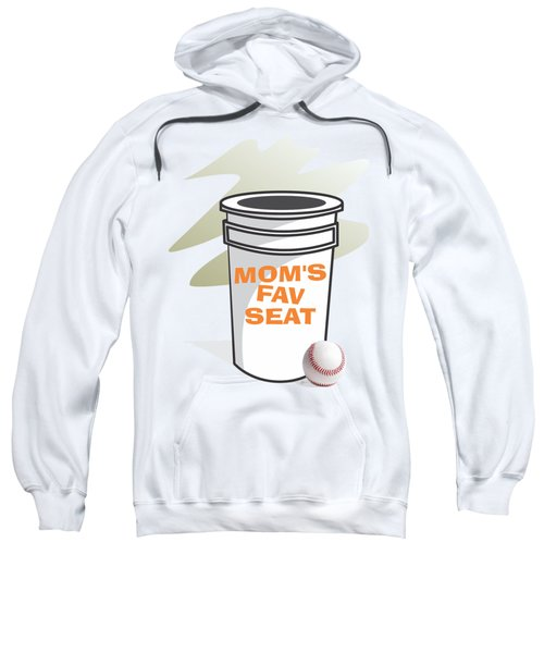 Mom's Favorite Seat Sweatshirt by Jerry Watkins