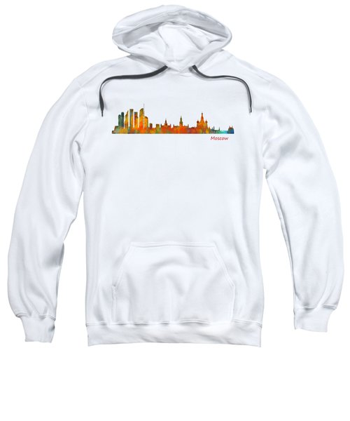 Moscow City Skyline Hq V1 Sweatshirt by HQ Photo