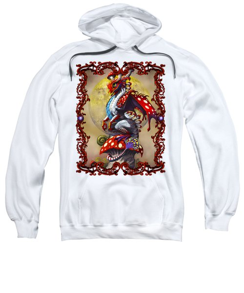 Mushroom Dragon T-shirts Sweatshirt by Stanley Morrison