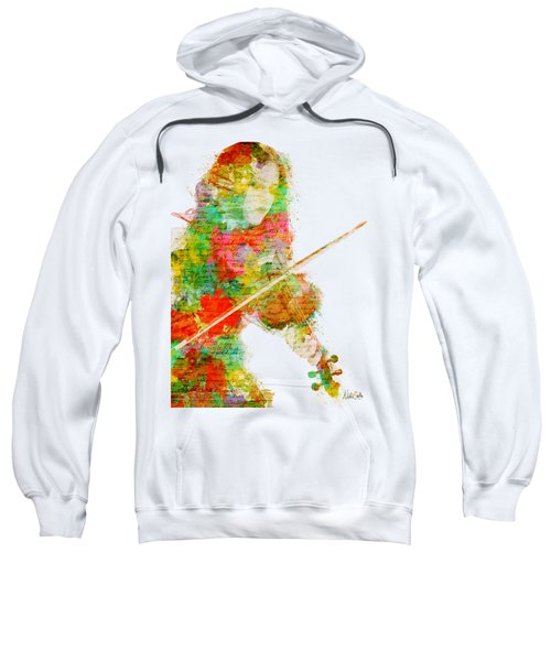 Music In My Soul Sweatshirt by Nikki Smith