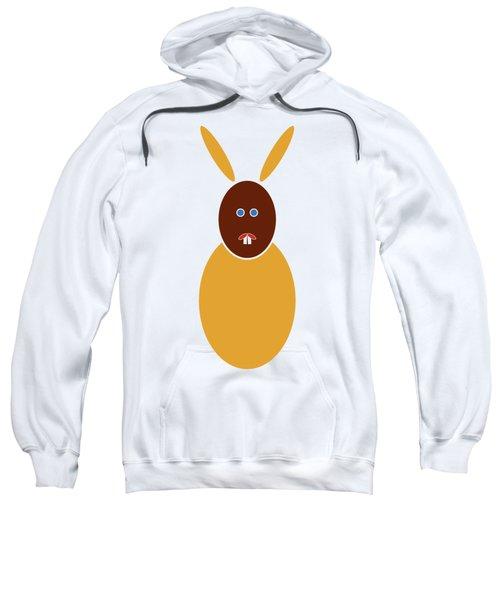 Mustard Bunny Sweatshirt by Frank Tschakert