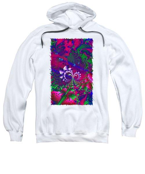 Nerd Berries Psychedelic Fractal Sweatshirt by Sharon and Renee Lozen