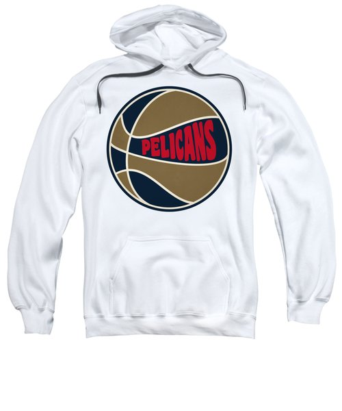 New Orleans Pelicans Retro Shirt Sweatshirt by Joe Hamilton