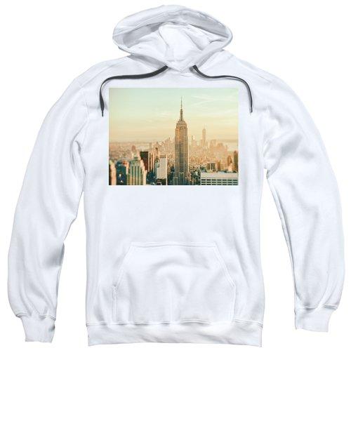New York City - Skyline Dream Sweatshirt by Vivienne Gucwa