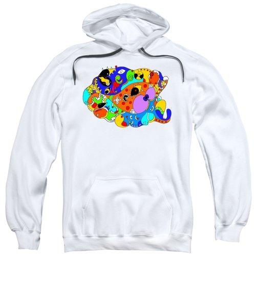 Ocean Life Sweatshirt by Sally Bosenburg