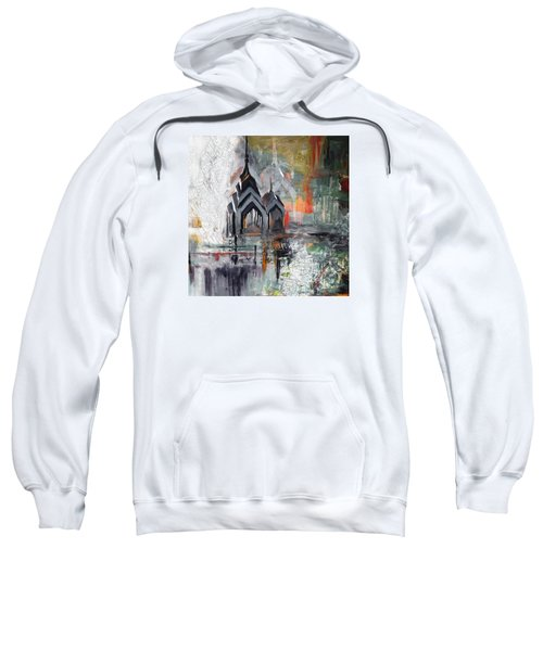 One Liberty Place And Two Liberty Place 229 3 Sweatshirt by Mawra Tahreem