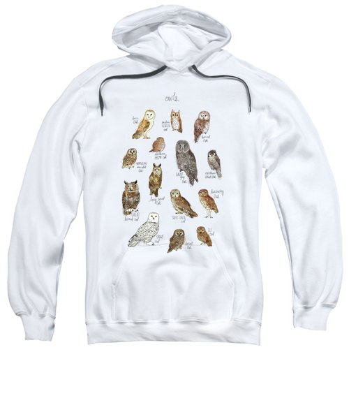 Owls Sweatshirt by Amy Hamilton